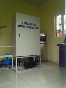 Hệ thống quan trắc nước thải tự động liên tục