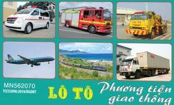 Lô tô phương tiện giao thông PA5510