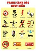 Tranh cảnh báo nguy hiểm PA5418