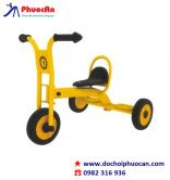 Xe đạp 3 bánh cho trẻ mầm non màu vàng 1 ghế ngồi PA2223