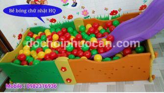 Bể bóng mầm non 6 mảnh k2 PA2122