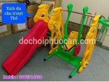 Xích Đu Cầu Trượt Con Thỏ SL08 PA2607