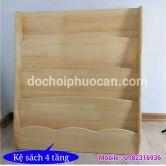 Kệ sách gỗ thông ks1 PA3317
