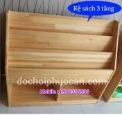 Kệ sách gỗ thông ks2 PA3318