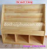 Kệ sách gỗ thông ks5 PA3321