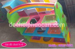 Giá đồ chơi 9 giỏ PA3637