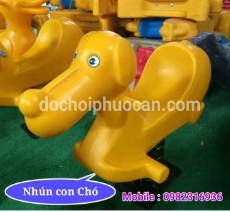 Nhún lò xo con Chó PA1127