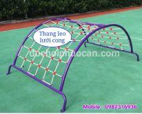 Thang leo lưới cong PA1307