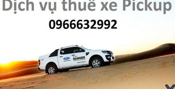 Cho thuê xe bán tải tự lái