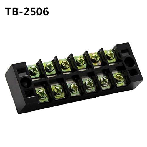 Cầu đấu điện 6 chân 25A  TB-2506