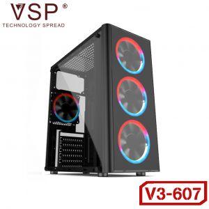 Case VSP V3-607 Gaming Trong Suốt