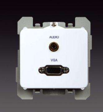 Ổ cắm VGA & Ổ cắm tai nghe3.5mm