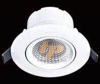 Đèn led spotlight âm trần ánh sáng vàng 8W N0424-0213