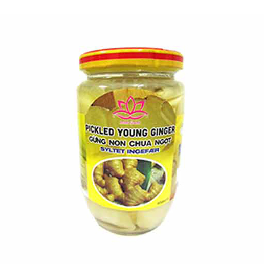 Pickled young ginger