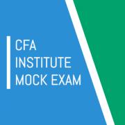 CFA 2016 Mock Exam Level2