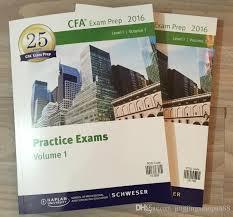 CFA 2016 Schweser Practice Level1