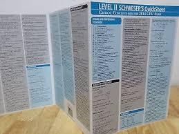 CFA 2016 Quicksheet Level3