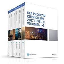 CFA 2017 Curriculum Level3 gáy xoắn giấy đẹp
