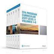 CFA 2017 Curriculum Level2 gáy xoắn giấy đep 10 quyển