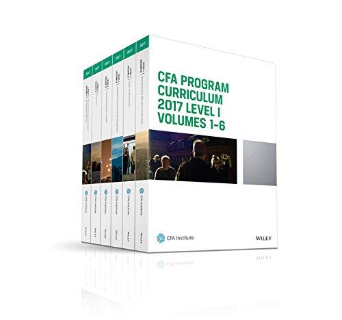 CFA 2017 Curriculum Level1 gáy xoắn 10 quyển