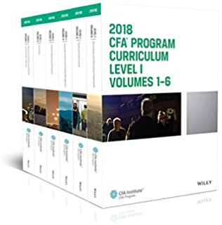 CFA 2018 Curriculum 12 quyển  Level1