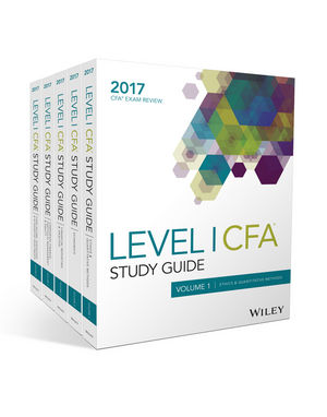 CFA 2018 Wiley Study Guide Level1