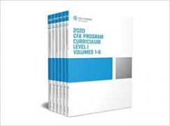 CFA 2020 Curriculum 11 quyển Level1