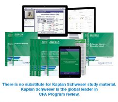 CFA 2020-2021 Kaplan Schweser Notes Level1