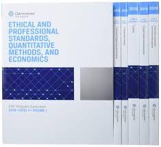 CFA 2020 Curriculum Level3