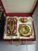 Giới thiệu bộ 3 hợp kim cao cấp mạ vàng, mạ bạc theo phong thủy