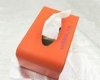 Hộp khăn giấy bọc da HBD07