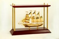 Thuyền Buồm Mạ Vàng 24K NSS-03GP