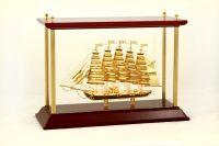 Thuyền Buồm Mạ Vàng 24k NSS-06GP