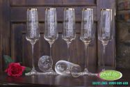 Ly thủy tinh pha lê khảm viền vàng 24K - SLB01
