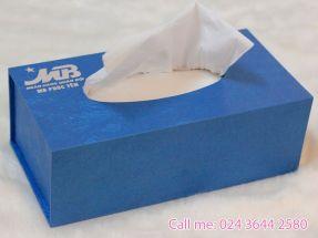 Hộp khăn giấy ăn MB Bank