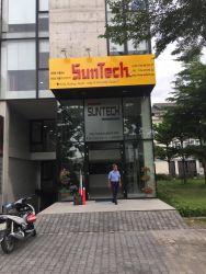 Thi công bảng hiệu tại SunTech Q.7