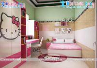 Phòng ngủ hình mèo Kitty siêu đáng yêu - BBP141