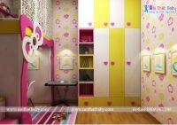 Phòng ngủ cho bé yêu phối màu sắc đa dạng - BBP139