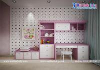 Thiết kế phòng ngủ đẹp sang trọng phong cách tân cổ điển cho bé mã BBP132