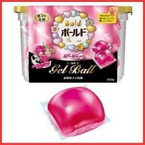 Viên Gell Giặt Ball (màu hồng)