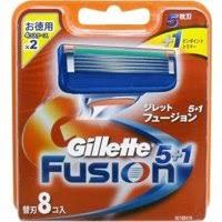 Lưỡi dao cạo Gillette Fusion vỉ 8c
