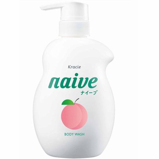 Sữa tắm Naive Đào 530 ml