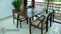 Những bộ bàn ghế ăn hiện đại, mẫu mã đẹp tại Nghĩa Furniture - Hà Nội