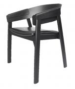 Ghế C&C (CHAIR 3) gỗ ASH xuất khẩu đen tuyền