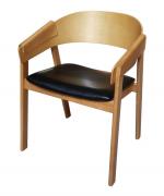 Ghế C&C (CHAIR 3) gỗ ASH xuất khẩu nâu sáng