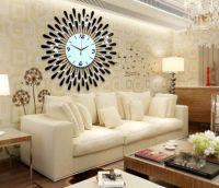 Đồng hồ treo tường hoa pha lê