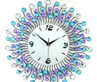 Đồng hồ treo tường hoa pha lê số 1