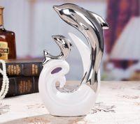 Đôi cá voi ( mạ bạc)