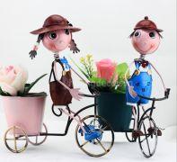 Bé đạp xích lô ( bộ bé trai + gái )