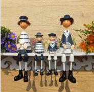 Set gia đình hải quân ( ngồi hoặc đứng)